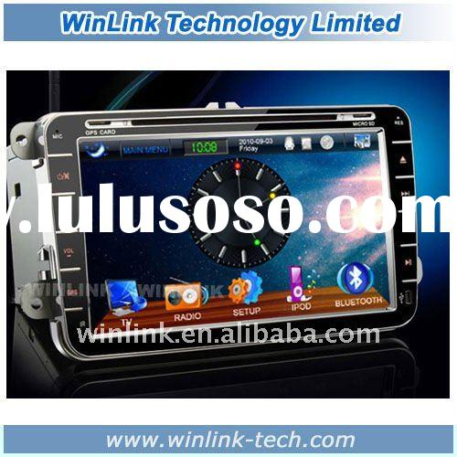 "8"" 2 din Touch Screen Car DVD Player For VW Jetta ( 2006-2011)"
