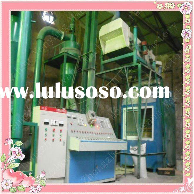 99% recovery rate aluminum composite pipe/panels recycling machine for sale