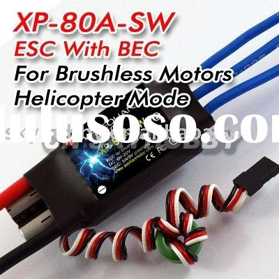 Aeolian 80A ESC for RC Helicopter brushless motor SW