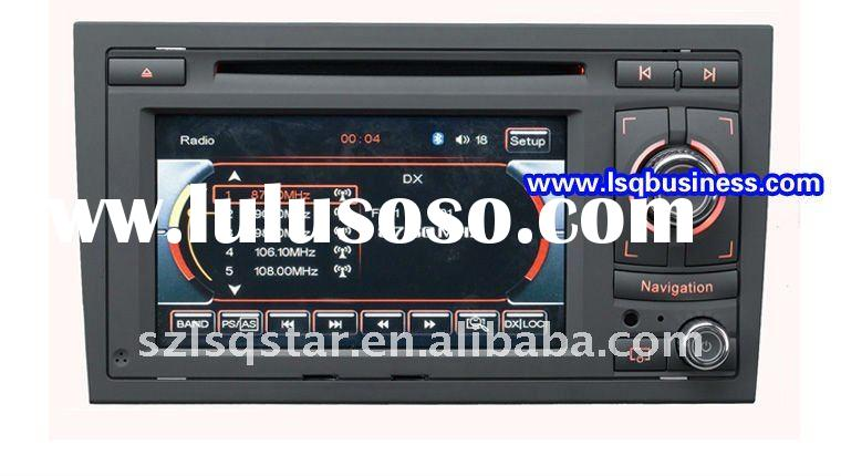 Audi A4 2002-2008 Car dvd player with GPS,Bluetooth,IPOD,USB,TV,Radio,Wheel Steering Control Functio