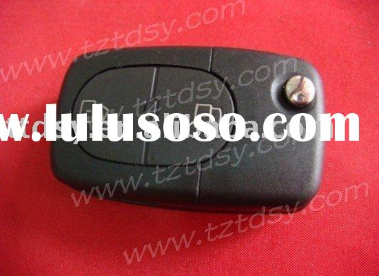 Auto key shell for Audi 2 button remote folding key casing