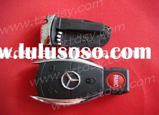 Auto key shell for Mercedes for Benz 4 button remote key casing
