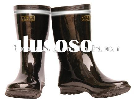 Brand non-slip safety industrial rubber wellington rain boots EN20345