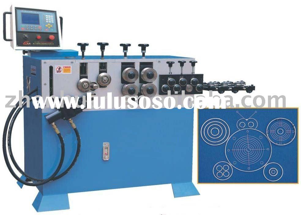 CNC loop making machine, circle making machine, ring making machine