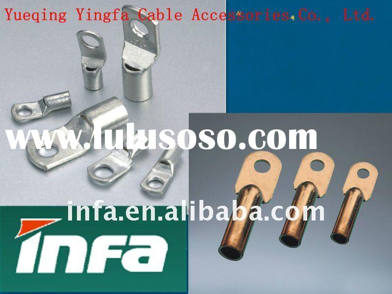Cable Lug, Crimping Type Copper Tubular Cable Terminal Ends - Light Duty
