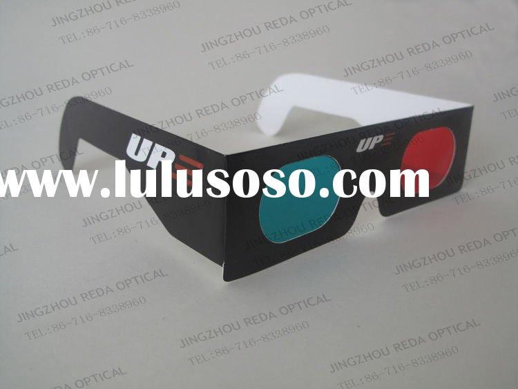 Disposable Red Cyan 3D Anaglyph Glasses