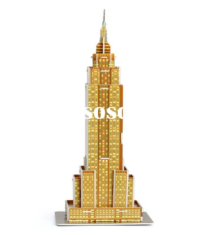 Empire state building Mini 3d puzzle house