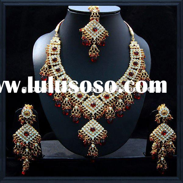 Graceful india jewelry indian bridal jewelry sets bridal jewelry sets