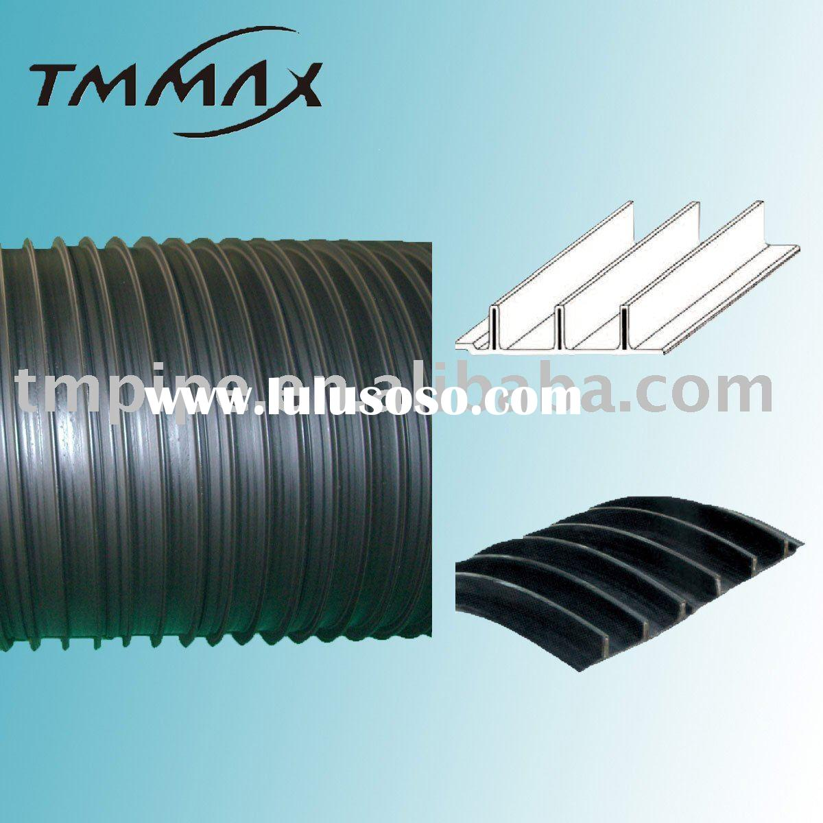 HDPE sewer pipe,drainager pipe,steel reinforce hdpe pipe