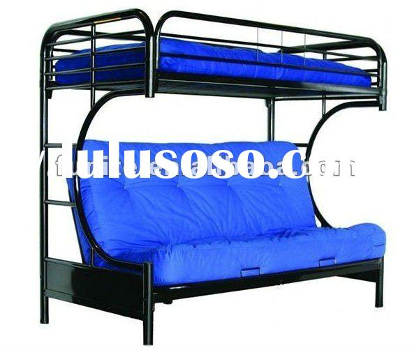 Home Products Twin-Over-Full Futon Bunk Bed