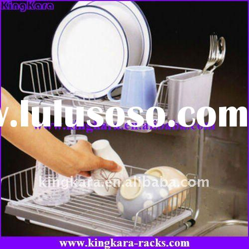 KingKara KA-WTJ-0119 Kitchen Cabinet Dish Rack