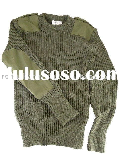 Military Pullover , army sweater, army uniform