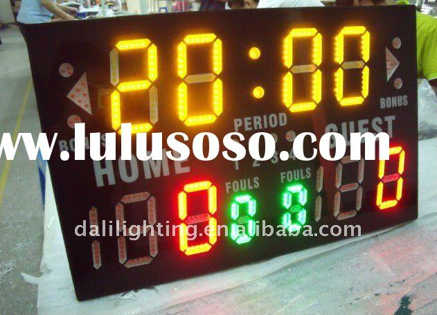 Multisport Portable Indoor Tabletop Scoreboard - Basketball, Wrestling, Volleyball, Boxing