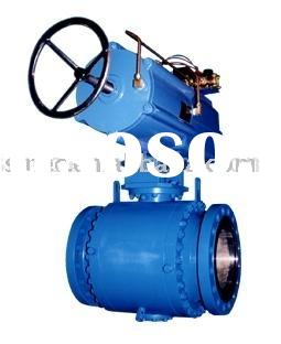 "Pneumatic Series G Pipeline Ball Valves,trunnion mounted ball valve 2""-48"""