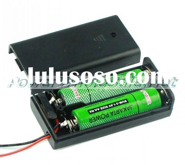 Protecting 2*1.5V 2AA battery holder box/case