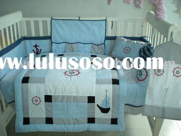 Sailing Infant Baby Bedding Crib Set