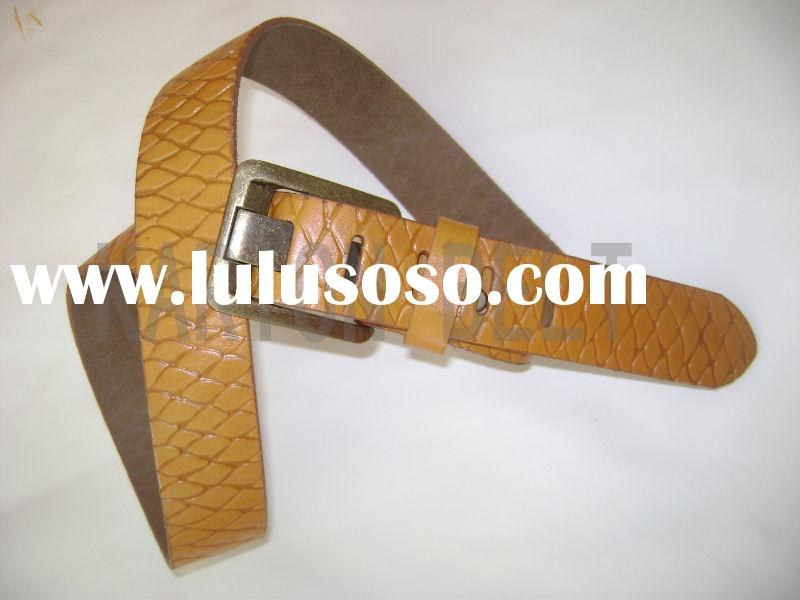 So bright color high fashion belts / So fashion accessor yellow belt