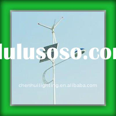 Solar Wind Energy Saving Hybrid for Street Lights