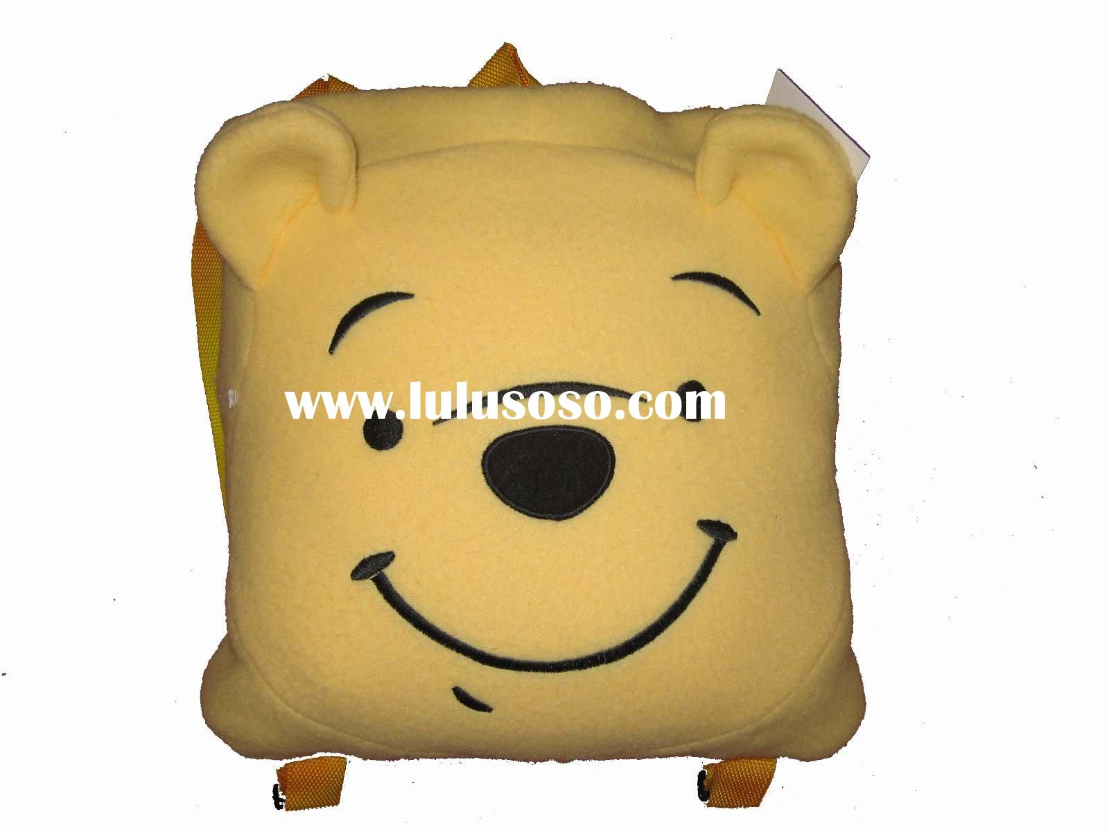 Winnie the Pooh sleeping bag backpack,sleeping bag backpack, backpack,sleeping bag, cushion