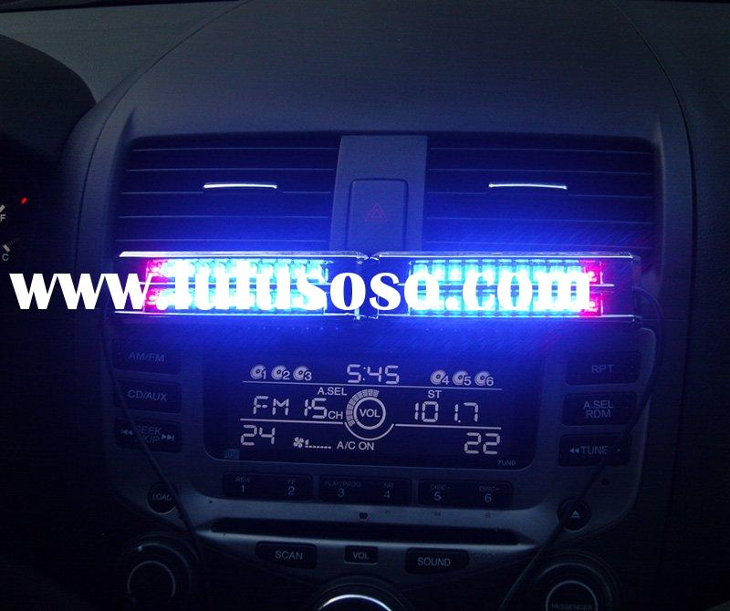 car sound effect control music light