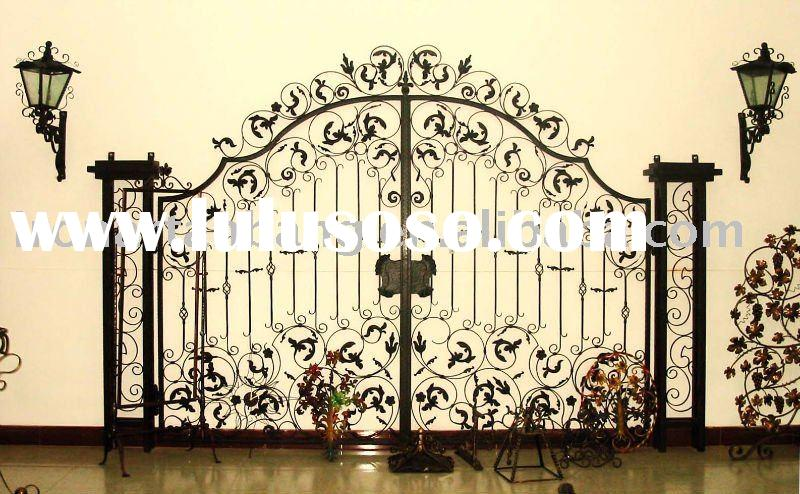 cast iron door decorative iron gate wrought iron door