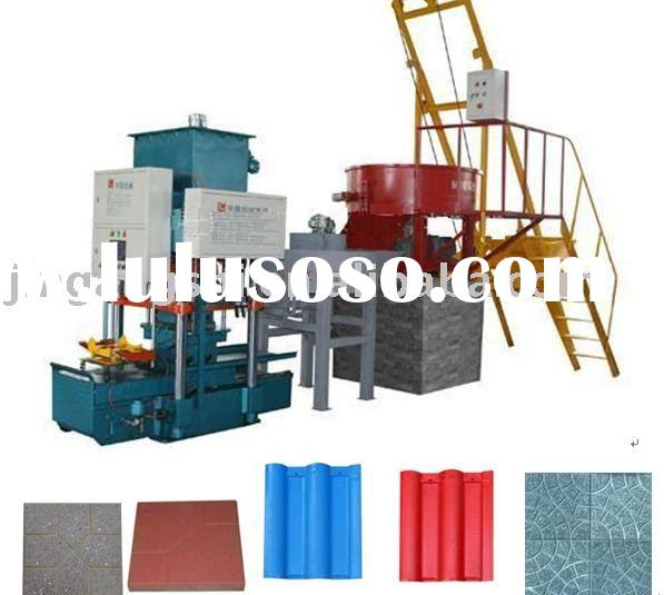 cement tile making machine (hydraulic) 008615238020686