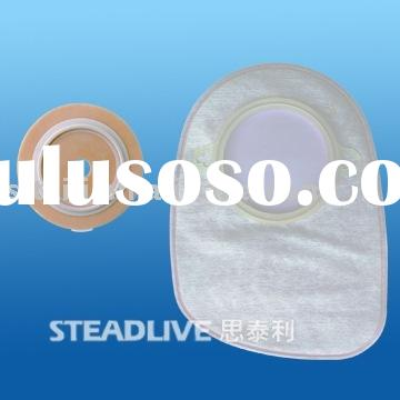 colostomy bag closed-two system/ostomy/disposable colostomy bag