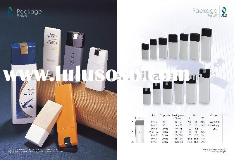 cosmetic packing plastic lotion bottle HDPE good for liquid foudation