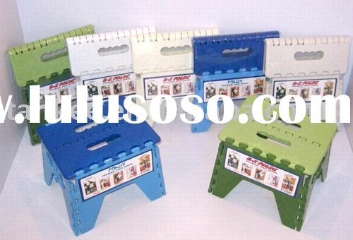 folding step stool(TK-201),plastic folding stool