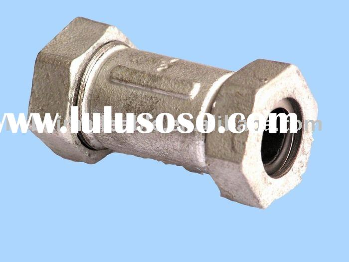 galvanized quick connect malleable iron pipe fittings