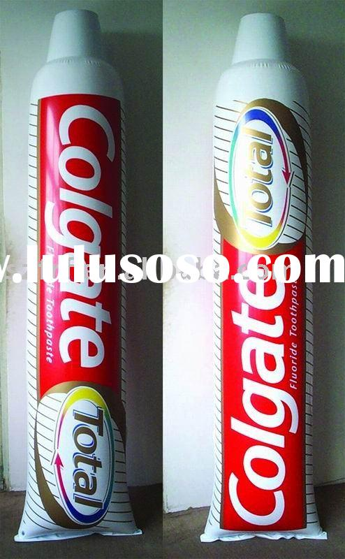 inflatable toothpaste tube,inflatable promotion tube,inflatable paste tube
