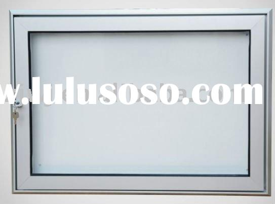 key lock display case,Lockable display case,outside notice board,outdoor poster display case