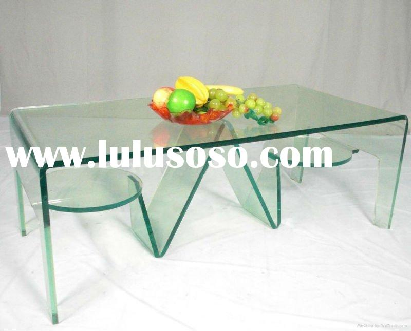 modern clear plastic coffee table, acrylic coffee table