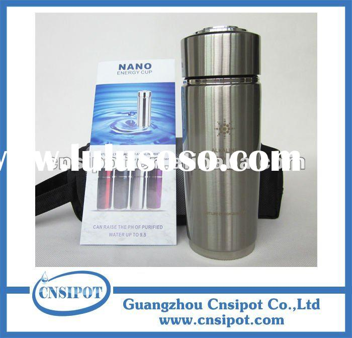 nano energy alkaline water flask alkaline ionizer water purifier