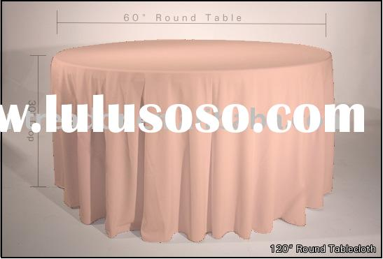 polyester table clothes, table cover, round table cloth