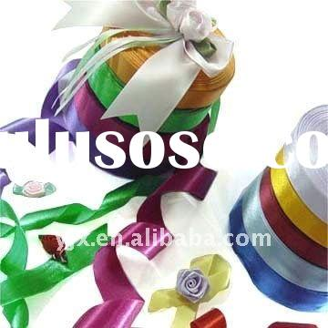ribbons and bows for decoration