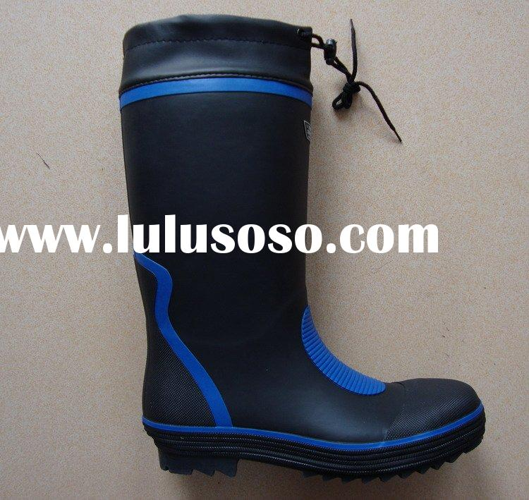 safety rubber boot for working