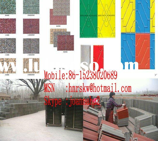 terazzo tile machinery,floor tile making machine,roof tile making machine, composed color terazzo ti