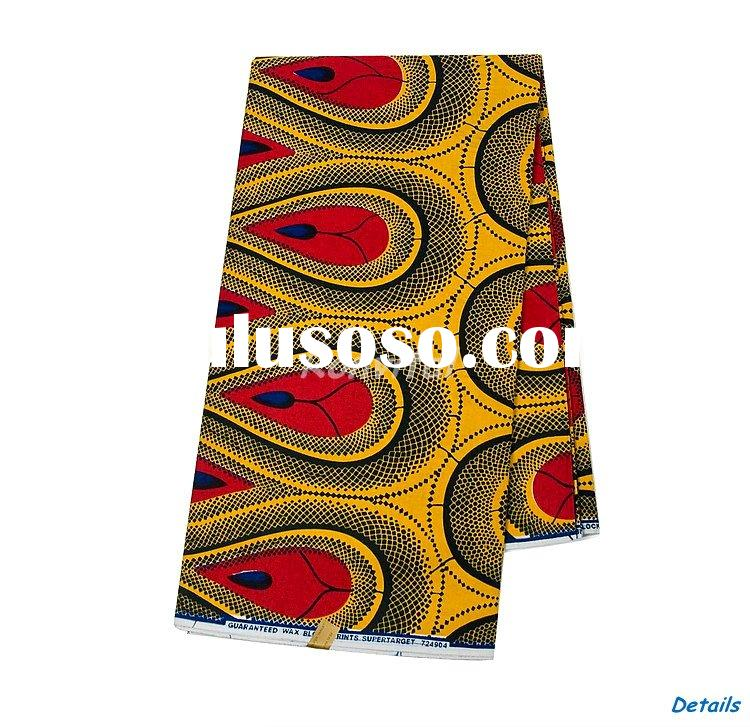 wholesale fashion veritable african cotton wax prints fabrics 170W