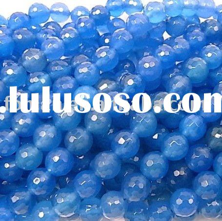 12mm round blue agate and names of all gemstones