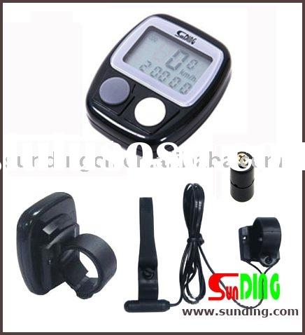 14Function LCD Large Screen Bike Computer speedometer