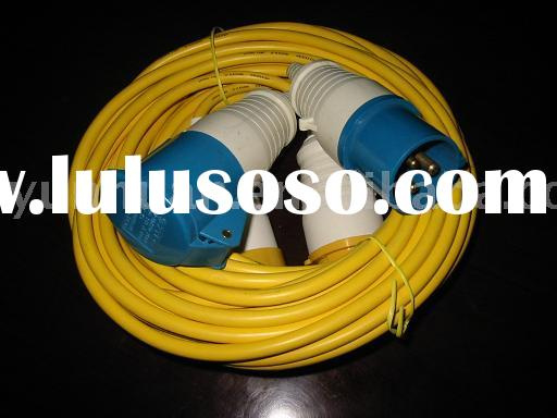 16 amp European standard Power Cord Cable Industrial plug