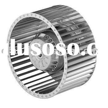 200mm AC backward curved impeller centrifugal fan with external rotor motor