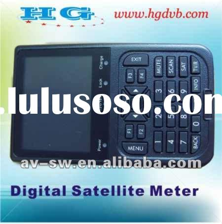 2012 digital satellite finder , dvb-s satellite finder meter, finder satellite