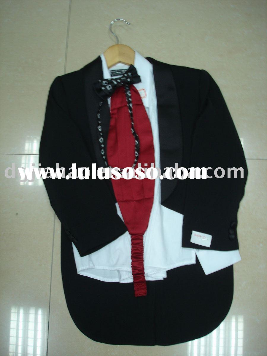 2012 gentleman style formal child clothing boys suits
