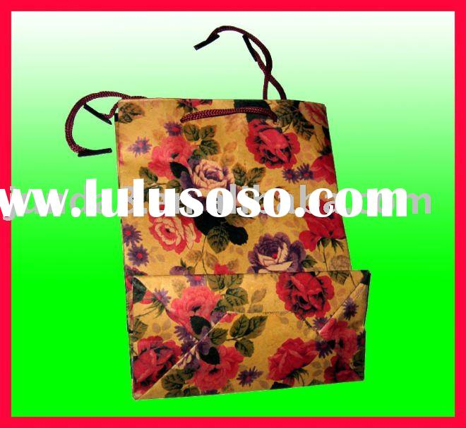 2012 new style paper shopping bag