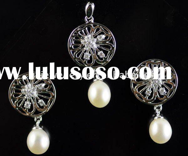 925 Sterling silver Jewelry making pearl GPSS-9090