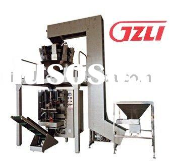Automatic combination of weighing and packing machine system