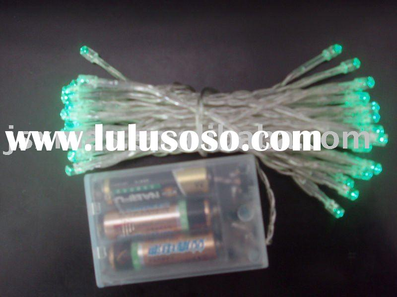 Battery operated LED string light with controller(Chasing light)