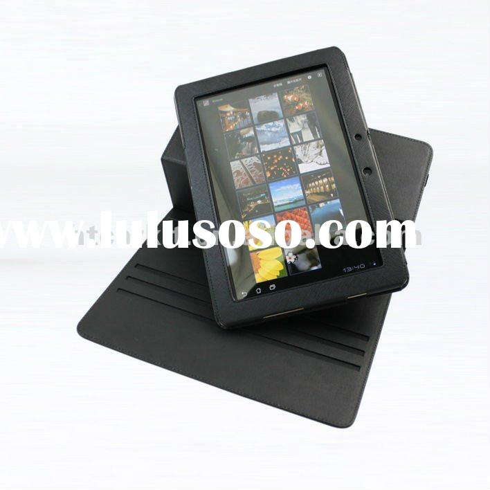 Black 360 Rotating Leather Stand Case for ASUS Eee Pad Transformer Prime 10.1 TF201